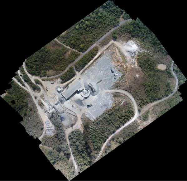Ortofoto 600x581 Veja como arrumar trabalho no setor de Drones   Segunda Parte
