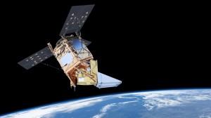 Sentinel 5 Precursor inOrbit Copyright Max Alexander Airbus2017 300x168 Satélite Sentinel 5 inicia sua viagem final até a base de lançamento