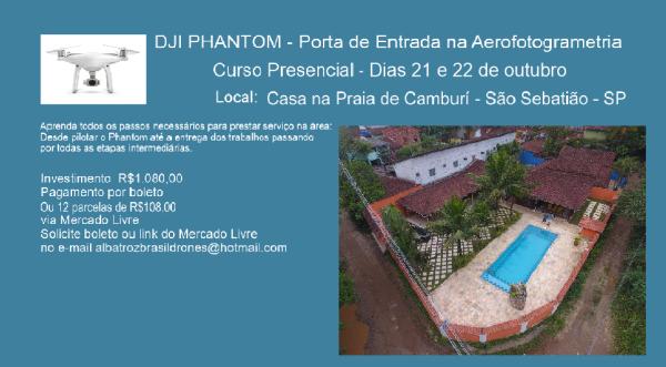 Curso Outubro 600x331 Albatroz Brasil Drones, referência na capacitação de pilotos de drones, lança novo curso
