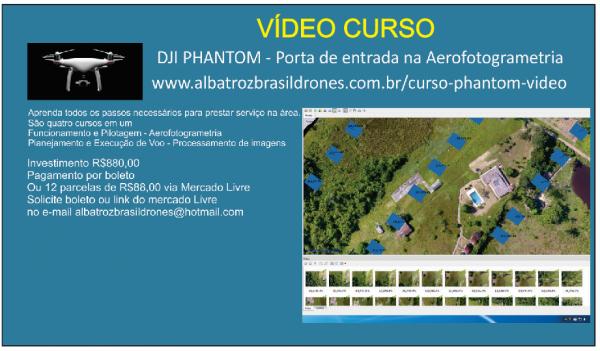 Curso Vídeo 600x351 Albatroz Brasil Drones, referência na capacitação de pilotos de drones, lança novo curso
