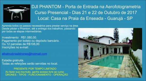 Banner Outubro promocional 600x333 Rede de Profissionais Albatroz Brasil Drones cresce a cada mês