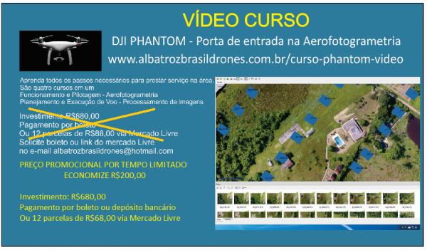 Curso Vídeo PROMOÇÃO 600x351 Rede de Profissionais Albatroz Brasil Drones cresce a cada mês