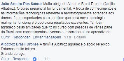 Sandrão Rede de Profissionais Albatroz Brasil Drones cresce a cada mês