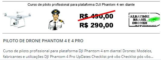 drone dji phantom como porta de entrada na aerofotogrametria curso de piloto de drone DJI Phantom como porta de entrada na Aerofotogrametria