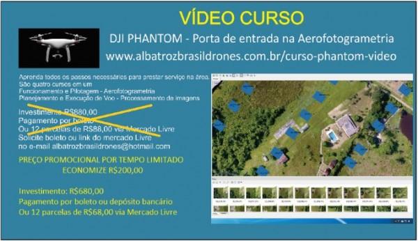 drone dji phantom como porta de entrada na aerofotogrametria curso em video 600x346 DJI Phantom como porta de entrada na Aerofotogrametria