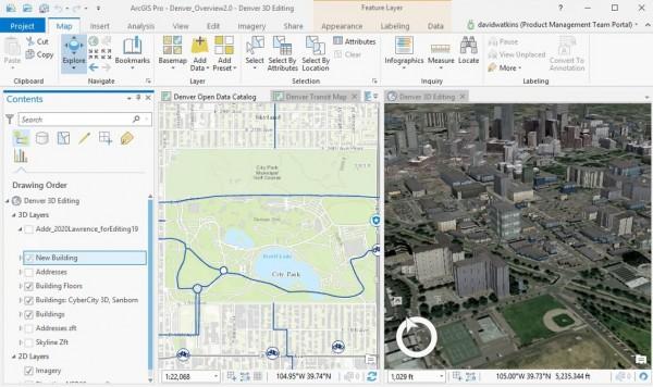 figura2 600x356 ArcGIS Pro: guiando o futuro do GIS Desktop. Veja como iniciar