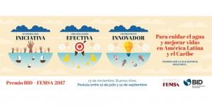 596667f96ee3b81e7dde6c50 BID FEMSA banner homepage 01 p 2000 300x150 Startup brasileira é finalista de Prêmio Internacional que vai reconhecer solução inovadora em água e saneamento