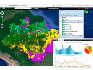 Novo Portal De Mapas PRODES 300x225 Inpe lança novo portal de dados e mapas sobre desmatamento