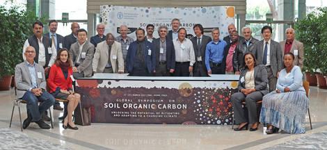 Experts da 6ª reunião do ITPS, em março de 2017. - Foto: Créditos: FAO