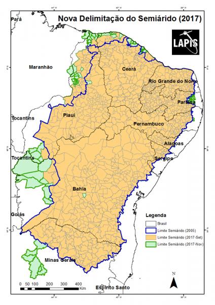 semi arido 424x600 Disponível a nova delimitação do Semiárido Brasileiro. Veja o que muda