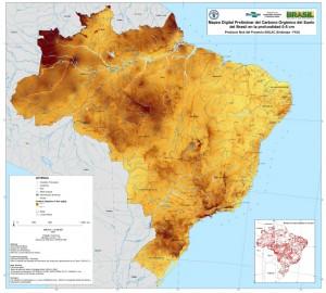 article1 300x270 Brasil lança o mapa de carbono orgânico do solo