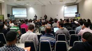 droneshow 2017 auditorio 300x168 Curitiba sedia evento de drones na Fiep   Federação das Indústrias do Estado do Paraná