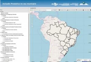 inclusao produtiva por municipio 300x204 Novo centro de pesquisa Embrapa Territorial é inaugurado em Campinas
