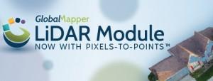 lidar module 300x114 Módulo LiDAR v.19 do Global Mapper permite criação de nuvem de pontos fotogramétricos
