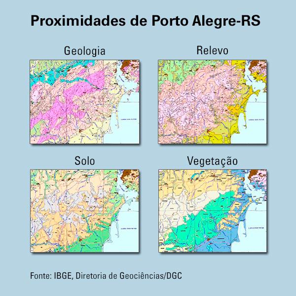 mapeamento grafico releaseqwiouguipoqgr4 IBGE conclui mapeamento de recursos naturais do território brasileiro