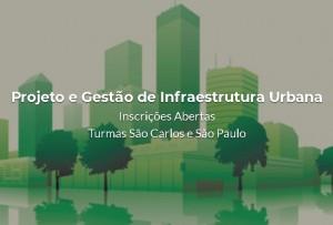 curso pos projeto infra urbana 300x203 Últimos dias para inscrição na pós em projeto e gestão de infraestrutura urbana