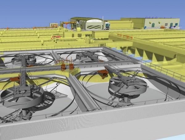 CH2M HILL WW Plant 600x455 Entrevista: Modelos 3D inteligentes de estações de tratamento de água e esgoto