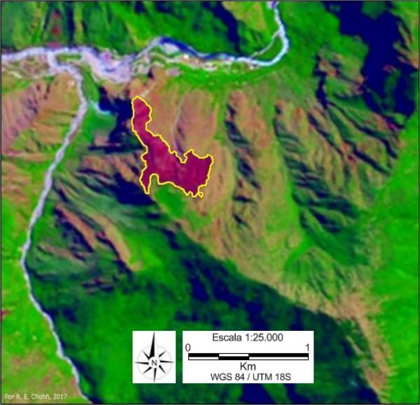 Imagem 103 600x579 Imagens de Satélite no mapeamento de queimadas próximas a Machupicchu