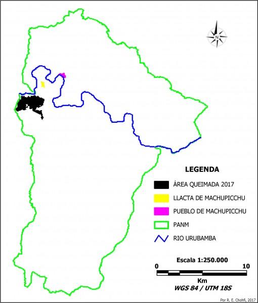 Imagem 105 510x600 Imagens de Satélite no mapeamento de queimadas próximas a Machupicchu
