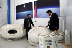 Visita a la sede de Zero 2 Infinity 300x200 Indra e Zero 2 Infinity combinam forças para abrir caminho ao espaço