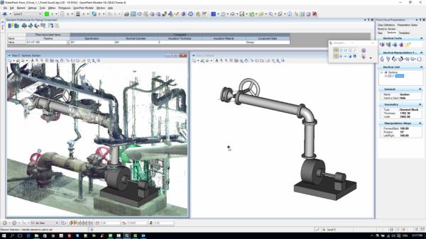WWW PointCloud 600x337 Entrevista: Modelos 3D inteligentes de estações de tratamento de água e esgoto
