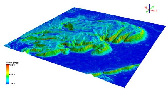 geodesign spaceview mde figura5 Geodesign lança MDS e MDT a partir de imagens de satélite Superview 1