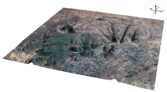 geodesign spaceview mde figura7 Geodesign lança MDS e MDT a partir de imagens de satélite Superview 1