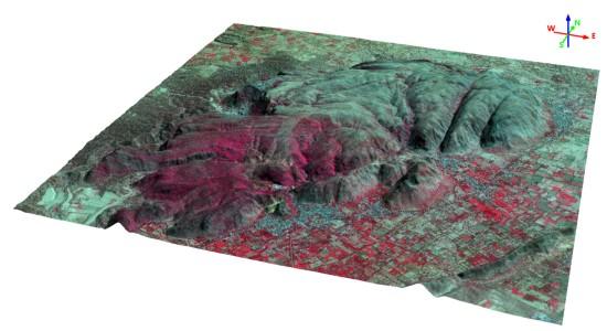 geodesign spaceview mde figura8 Geodesign lança MDS e MDT a partir de imagens de satélite Superview 1
