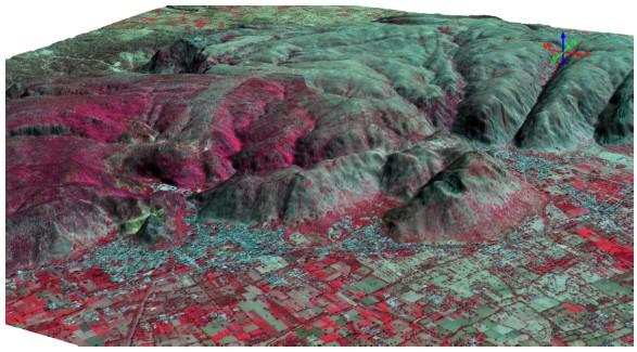 geodesign spaceview mde figura9 Geodesign lança MDS e MDT a partir de imagens de satélite Superview 1