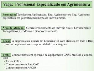 vaga unisafe resumo 300x226 Unisafe Consultoria busca profissional especializado em Agrimensura