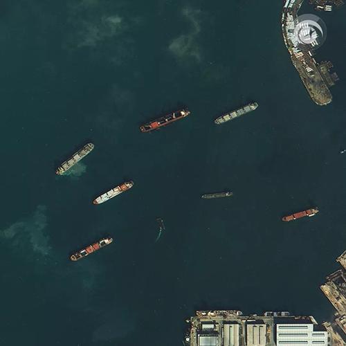 Fig104 Porto Alexandria Egito Space View libera primeiras imagens dos satélites Superview 1 3 e 4
