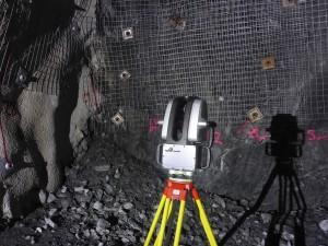 Maptek SR3 300x225 Nuevo escáner láser subterráneo SR3 de Maptek