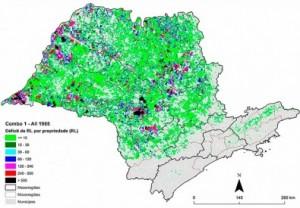 codigo florestal em sp 300x208 Estudo auxilia na implantação do novo Código Florestal em São Paulo