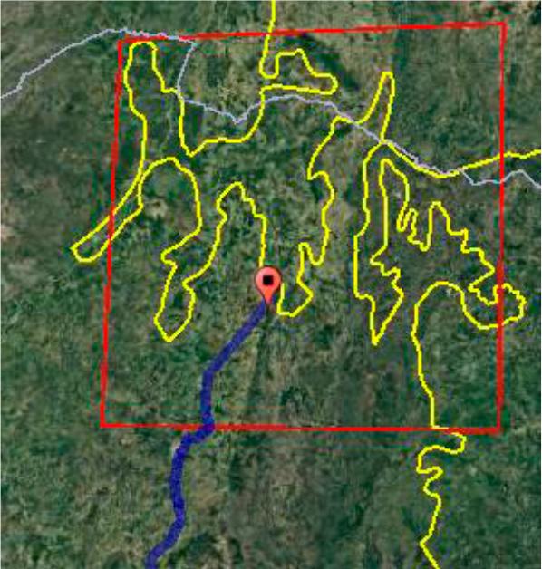 Detalhe do mapa dos biomas IBGE começa projeto para atualizar mapa dos biomas brasileiros