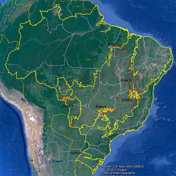Mapa dos biomas IBGE começa projeto para atualizar mapa dos biomas brasileiros