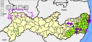 mapa sig cabure 300x137 Pernambuco anuncia o lançamento do SIG Caburé. Confira!