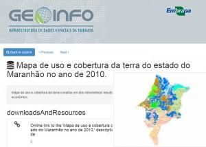 embrapa geoinfo 300x214 Embrapa lança plataforma digital com dados espaciais gerados pela pesquisa