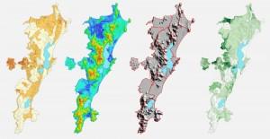 mapas florianopolis 300x155 Florianópolis disponibiliza dados geográficos do município para download