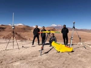 testes com drones da xmobots no chile 300x225 Drones brasileños participan de una batería de pruebas en Chile