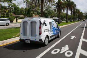 van autonoma da ford 300x199 Ford testa serviço de entrega com vans autônomas em Miami
