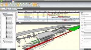 Synchro Crossrail Station 300x165 Bentley Systems adquire a Synchro Software para expandir modelagem 4D