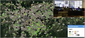 mapeamento de tuites para prever enchentes 300x133 Nueva herramienta usa datos del Twitter para mapear inundaciones