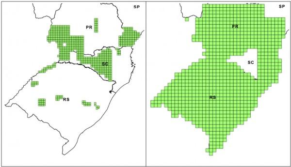 Enquadramento dos dados vetoriais disponibilizados 600x345 Exército disponibiliza dados vetoriais da Região Sul do Brasil