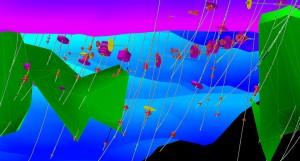 Maptek Vulcan 11 3Dgeological sculpting 300x161 Latest software release from Maptek supports 19,000 Vulcan users