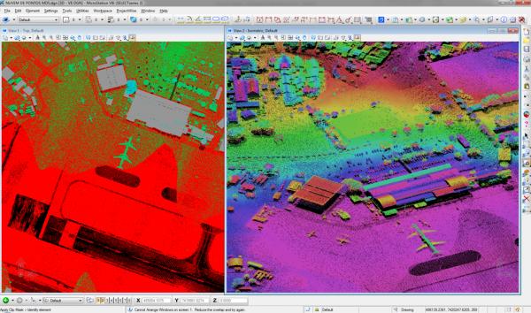 Point cloud LIDAR 600x354 Infraero entra na Era BIM com Aeroporto Digital e soluções Bentley