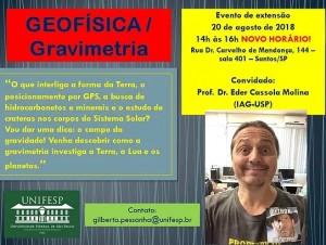 evento sobre geofisica e gravimetria 300x226 Unifesp realiza evento em Santos sobre Geofísica  e Gravimetria