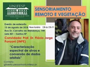 sensoriamento remoto e vegetacao 300x226 Unifesp realiza evento sobre Sensoriamento Remoto e Vegetação
