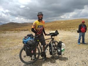 Alban Vivert de Bicicleta Comunidade latinoamericana do OpenStreetMap reúne se na Argentina