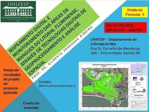 evento unifesp mapeamento mangues 300x225 Unifesp realiza evento sobre Mapeamento Digital de áreas de mangue