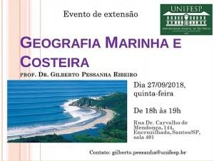 geografia marinha 300x226 Unifesp realiza evento sobre Geografia Marinha e Costeira